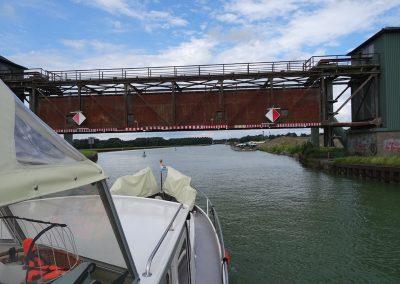 Auf dem Dortmund-Ems-Kanal