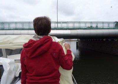 Die Brücken werden immer niedriger..