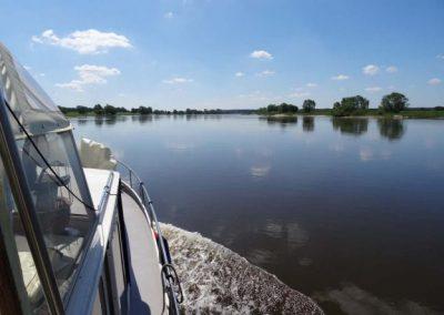 Genussfahrt auf der Elbe