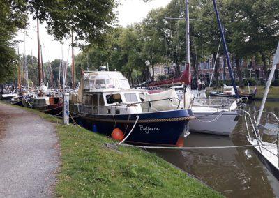 Die Liegestellen in Leeuwarden sind voll - so gibt's Päckchen