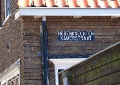 Straßennamen erinnern daran, wer hier früher gewohnt hat