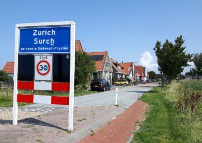 Wir fahren durch Zurich... :-)