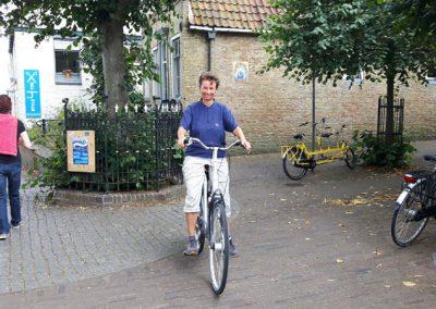 Ohne E-Bike und mit viel Wind quer über die Insel