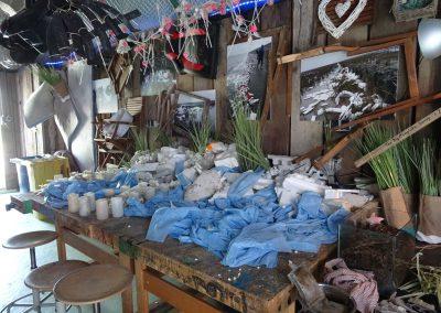 """macht sprachlos: """"Ausstellung"""" von gesammeltem Müll"""
