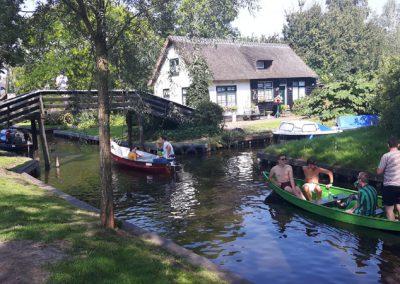 Abstecher zur Touri-Ecke von Giethoorn...