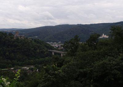 Lahntal und Rheintal treffen sich