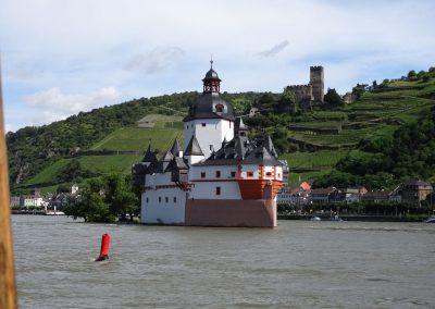 Die Pfalz im Rhein
