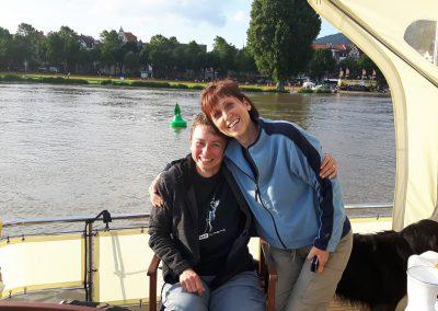 Lisi zu Besuch in Heidelberg