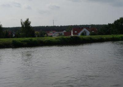 Kanal liegt höher als Umland
